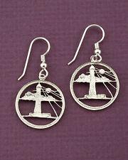 Lighthouse Earrings, Nautical Earrings, Earrings For Woman, Earrings, ( # 26ES )
