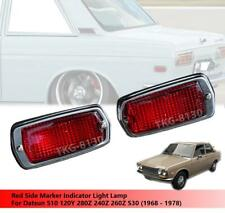 Red Side Maker Light For Datsun 510 120Y 280Z 240Z 260Z 1968-1978