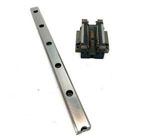 NSK LH25317 Interchangeable Linear Guide Rail 317mm Long w/ H25 Bearing Block