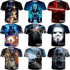 Смешные Звездные войны Дарт Вейдер 3D печати, женские/мужские повседневные футболка, футболка с коротким рукавом
