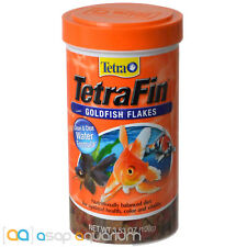Tetra TetraFin Goldfish Flakes 3.53oz (100g) Fish Food Clean Clear Water Formula