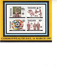 Blockausgaben-Lot Tansania, postfrisch