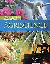 Exploring Agriscience, Herren, Dr. Ray V., Very Good Books