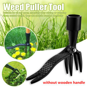Weeder Stand Up Weed Puller Tool Claw Garden Root Remover Outdoor Killer Easy US