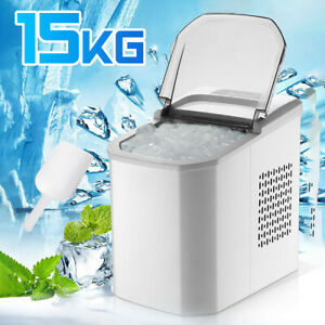 220V 1.2L Mini Ice Maker Machine Water Cooling Home Indoor Portable Ice Cube