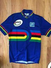 Extra Large Santini UCI Track World Champion short sleeve Jersey- brand new