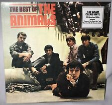 LP THE ANIMALS The Best of (180g CLEAR Vinyl, ABKCO, 2002) NEW MINT SEALED