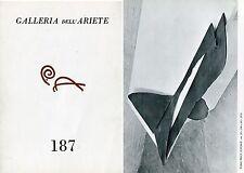 Antony Caro. Sculture 1973-1974 Invito Galleria dell'Ariete n. 187