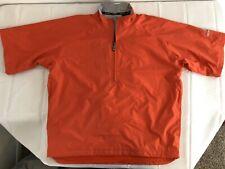 Sunice Typhoon Mens Golf 1/4 Zip Jacket Pullover Large Orange