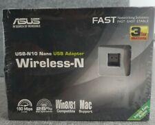 NEW ASUS USB-N10 Nano Wireless Adapter