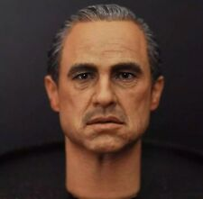 Vito Corleone The Godfather Marlon Brando 1/6 Kopf Head Sculpt Hot Toys Der Pate