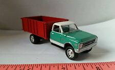 1/64 CUSTOM ERTL farm toy 1968 chevy Chevrolet seed grain truck red box nice!