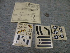 ABT decals 1/72 Set# 31 P-51D Mustang Dallas Doll 8th AF    C43