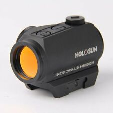 Holosun HS403GL Parallax Free 2 MOA Red Dot Sight Scope 1X20, 50000hrs, T1 mount
