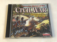 A Complete Of The Civil War PC CD-ROM 2000 Holiday Windows 95 98 Mac OS 7.1