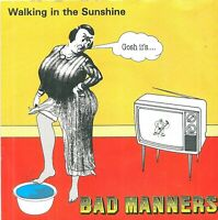 """Bad Manners – Walking In The Sunshine  7"""" Vinyl 45rpm"""