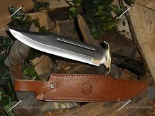"Timber rattler/Western outlaw/Bowie/Knife/Full tang/Hunting/Survival/Combat/16""+"