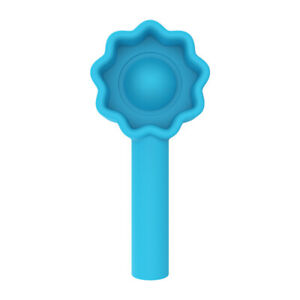 Pencil Topper Pen Cap Popper Fidget Toy Push Poppet Bubble Autism Anxiety Relief