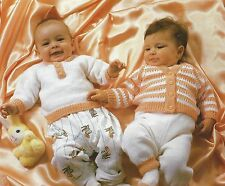 Machine Knitting Baby Sweater Leggings Cardigan Socks Pattern By Email (1204)