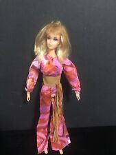 Lovely 1971 Vtg Live Action Mod Barbie in Original Outfit