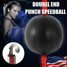 Double End Mma Boxing Workout Speed Ball Speed Training Dodge Punching Bag Usa