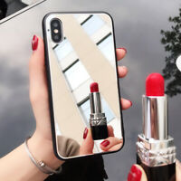 Mirror Phone Case Tempered Glass Cover for iPhone XS Max XR X 6 6S 7 8 Plus