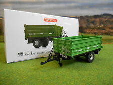WIKING Brantner E6035 3 Way Small Tipper Trailer 1/32 7348 Boxed &