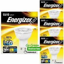 4x Energizer GU10 5.7W = 50W LED Bulb Spotlight 345 Lumens Dimmable High Power