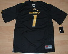 NIKE MISSOURI TIGERS MIZZOU #1 FOOTBALL JERSEY YOUTH XL - SUGG. RETAIL $55