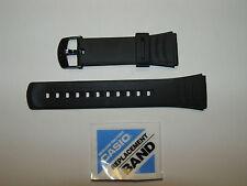 Cinturino Casio Originale Gomma Caucciù Nero Ansa 22 Mm. Modello DBC-32 DBC-32C