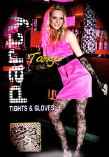 Luxury Floral Lace Tights with Matching Gloves! *CHRISTMAS & NEW YEAR PARTY*