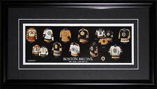 Boston Bruins Jersey evolution frame