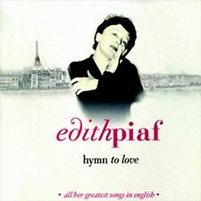 Edith Piaf - Hymn To Love - CD - NM - Made In France