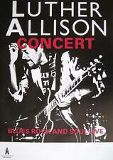 "LUTHER ALLISON TOUR POSTER / KONZERTPLAKAT ""BLUES ROCK & SOUL LIVE"""