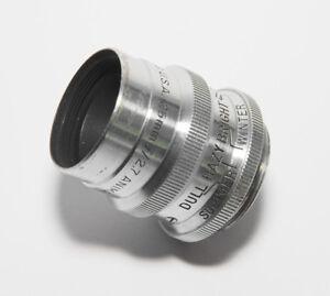 Bausch & Lomb 25mm F2.7 Animar Balcote C Mount Lens