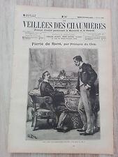 Journal illustré 1909  - Veillées des Chaumières - 23 Juin - Fierté de Race...