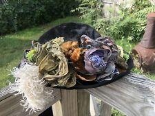 All Original Elzee Edwardian Beaver Edwardian Hat c. 1910