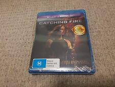 THE HUNGER GAMES CATCHING FIRE LIMITED Edition with Lenticular Cover New
