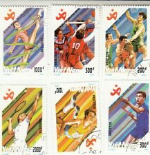 Vietnam 1990 11th Asian Games Beijing & 1992 Olympics in Barcelona. CTO MNH