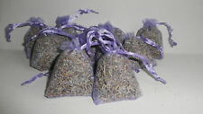 12 LAVENDER BAGS-moth repellent - calming - cello packed