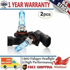 9012 HIR2 55W 5500K White Bulbs Halogen Head Light Dual Beam Replacement OEM x2