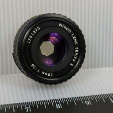Vintage Nikon Lens Series E 50mm 1:1.8 Lens g50