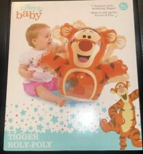 DISNEY BABY WINNIE THE POOH ROLY POLY WOBBLING TIGGER NEW!