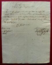1830 BALLENSTEDT - Fürst ALEXIUS FRIEDRICH CHRISTIAN von ANHALT - BERNBURG  e.U.