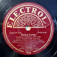 """Hampton - Flying Home - Save It pretty... - Electrola - /10"""" 78 RPM"""