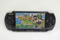 PSP Sony Playstation Portable Console Piano Black PSP-3000 Japan Tested 31183