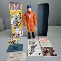 Vintage GI Joe 1964 #7800 Action Pilot TM Mascara Eyes Original Box 1964 Hasbro
