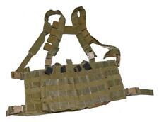 London Bridge Old Gen LBT-2586A Coyote Tan Low Profile Chest Vest - SEAL DEVGRU