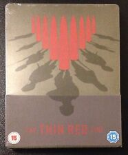 THE THIN RED LINE Blu-Ray SteelBook UK Import Ltd Ed Region Free New OOP & Rare!