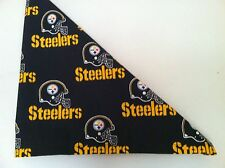 NFL Pittsburgh Steelers Bandana -Black Handmade